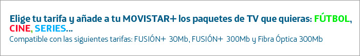 Tarifas Internet Comparador Adsl Fibra Y Tv Movistar