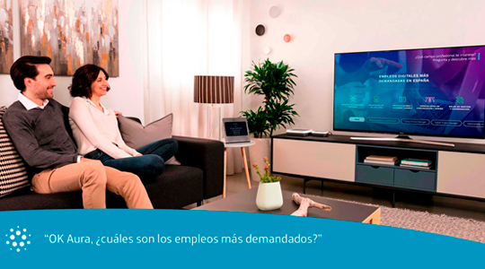movistar altavoz inteligente
