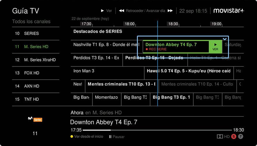 Programación Movistar Plus Y Guía Tv De Todos Los Canales Movistar