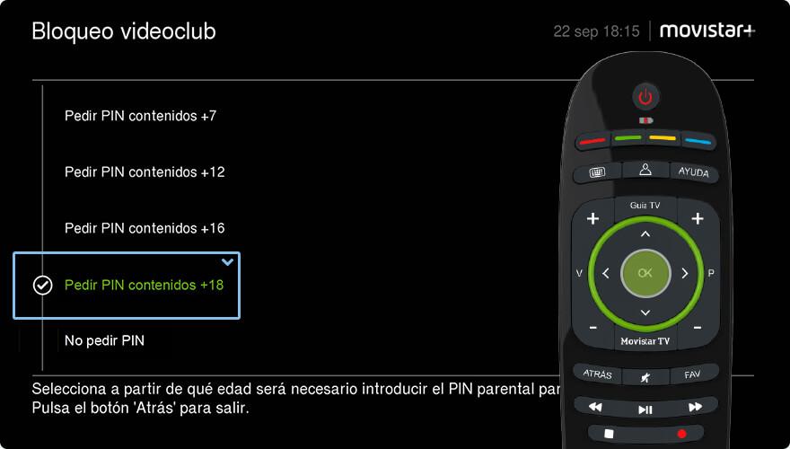 PIN de compra y parental  Tu seguridad y la de los tuyos - Movistar+
