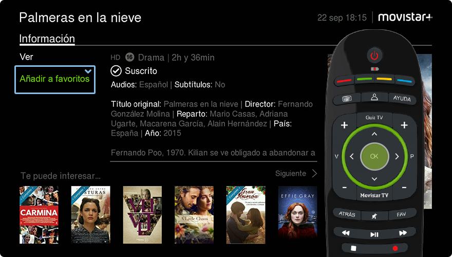 Cine Bajo Demanda Las Mejores Películas Guía Uso Movistar